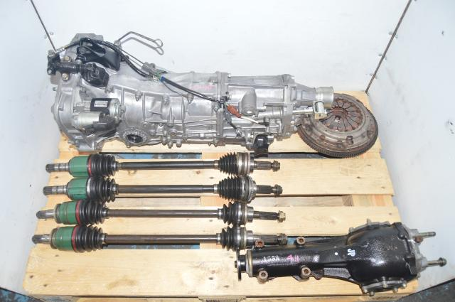 Subaru WRX 2008+ Transmission Package 4.11 FD Replacement 5MT for GH WRX with Rear Diff