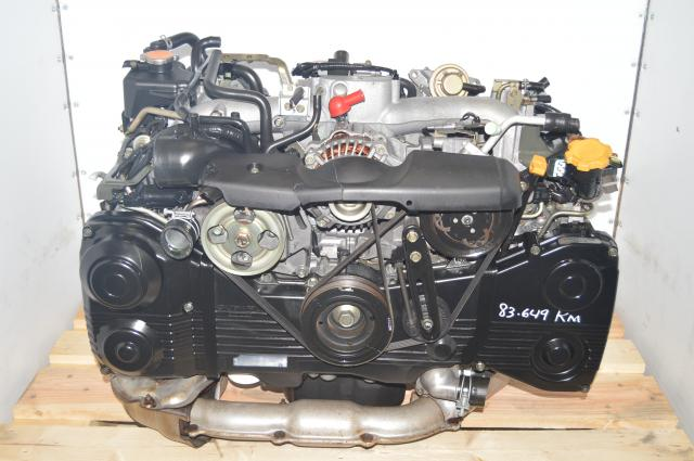 Used Subaru EJ205 DOHC AVCS 2.0L TD04 Turbocharged Engine Replacement for Sale