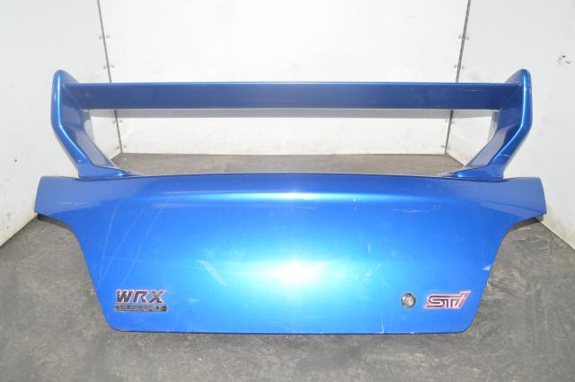 Subaru GDA GDB Trunk w/Evolution VII Spoiler for 2002-2007 Impreza WRX & STI in WRB