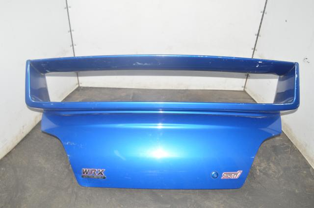 Subaru WRX STI Trunk in WRB with S7 Replica Spoiler for 2002-2007