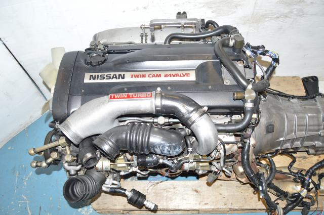 Nissan Skyline BNR32 GTR RB26DETT Engine Swap for 1989-1994 Nissans w/ECU & Complete Engine Harness NO TRANSMISSION