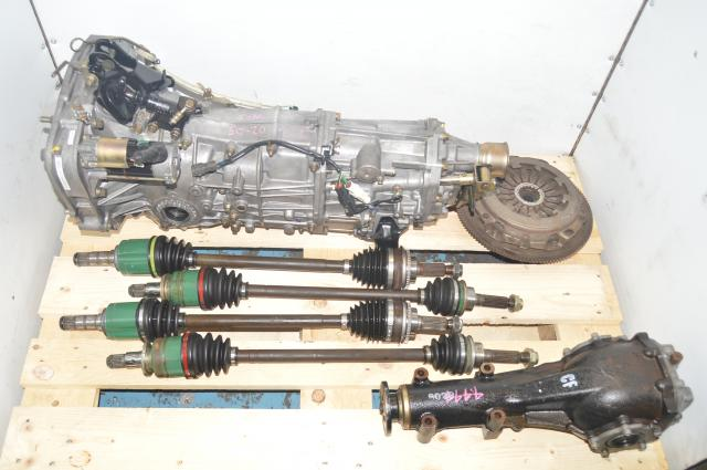 JDM 2002-2005 WRX 4.44 Final Drive 5MT Transmission Axles, Diff & Clutch