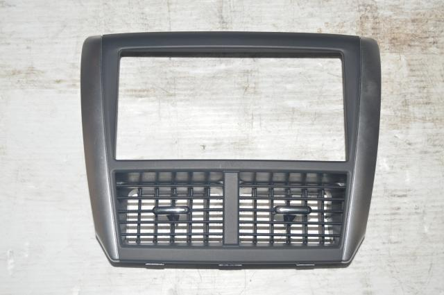 Subaru GR STI 2008-2014 Radio Trim Center Console Bezel w/Vents for Sale