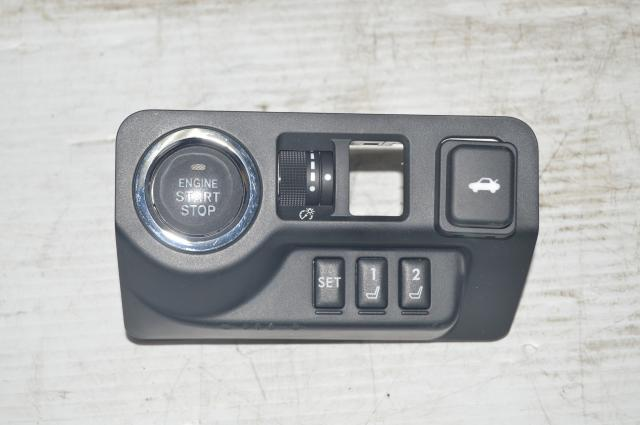 JDM RHD 2015+ STI VA Start Button w/Seat memory and lighting adjustment