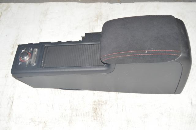 JDM Subaru WRX STI Center Armrest w/Cupholders, Cover, SI Drive and LED's for 2008-2019