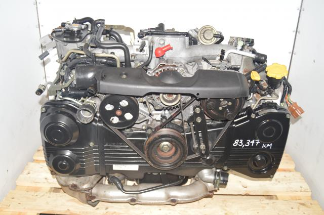 WRX JDM EJ205 2002-2005 2.0L DOHC TD04 Turbocharged DOHC Engine for Sale