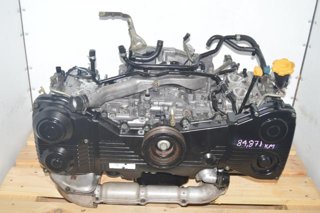 JDM Subaru WRX EJ205 DOHC 2.0L 2002-2005 Long Block Replacement for Sale