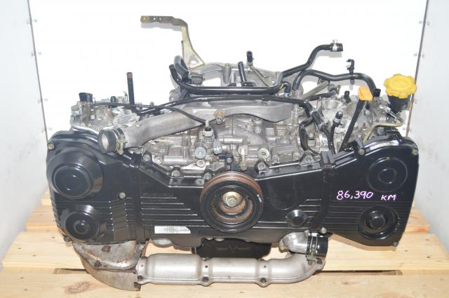 Used Subaru JDM WRX AVCS ENGINE 2002-2005 2.0L Replacement Long Block AVCS Motor for Sale