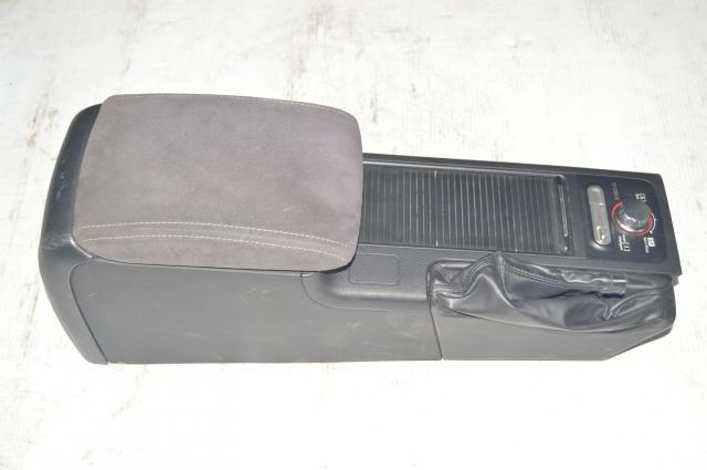 JDM Subaru WRX STI 2008-2019 Center Armrest and Cupholders w/SI Drive