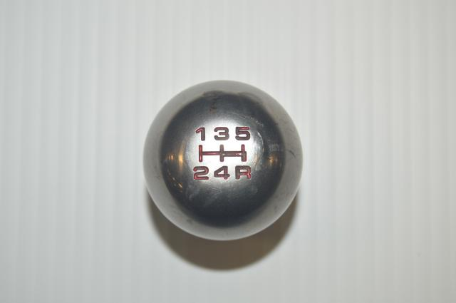 Titanium Shift Knob From an Integra Type R for 1995-2001 Honda & Acura 5MT Transmissions