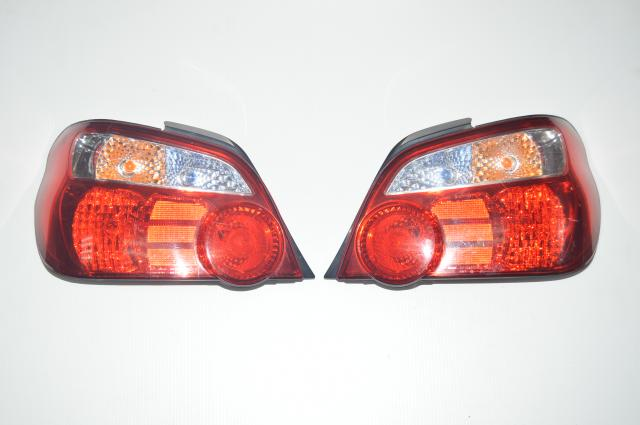JDM Version 8 Subaru WRX STI 2004-2007 STI Red Tail lights for GD