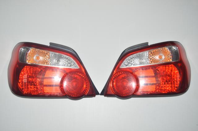 JDM Red GDA GDB Version 8 Tail Lights for 2004-2007 WRX & STI Sedans
