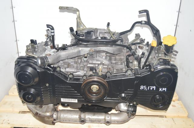 Used JDM Replacement EJ205 AVCS Long Block WRX 2002-2005 2.0L DOHC AVCS Engine for Sale