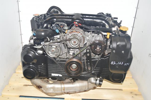 Used Subaru EJ20Y / EJ255 WRX 2008-2014 DOHC 2.0L VF44 Turbocharged JDM Replacement Engine