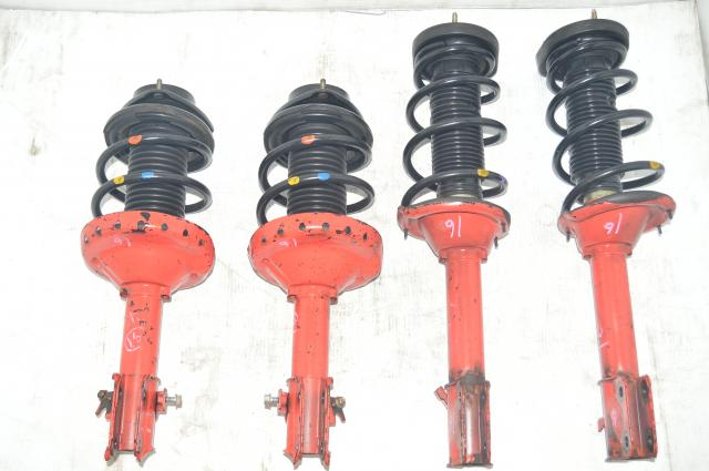 JDM Subaru Version 8 GDB WRX STI 5x100 Suspension for 2002-2007 Applications