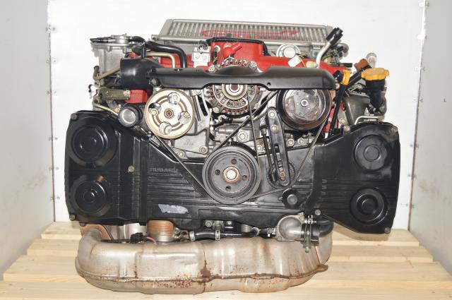 JDM Twin-Scroll Version 8 EJ207 Turbocharged AVCS 2.0L Replacement Subaru STi DOHC Engine Swap
