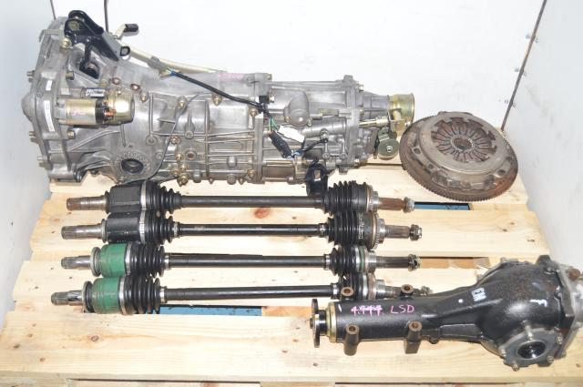 JDM Replacement 5 Speed WRX 2002-2005 Manual Transmission with LSD 4.444 Rear Differential
