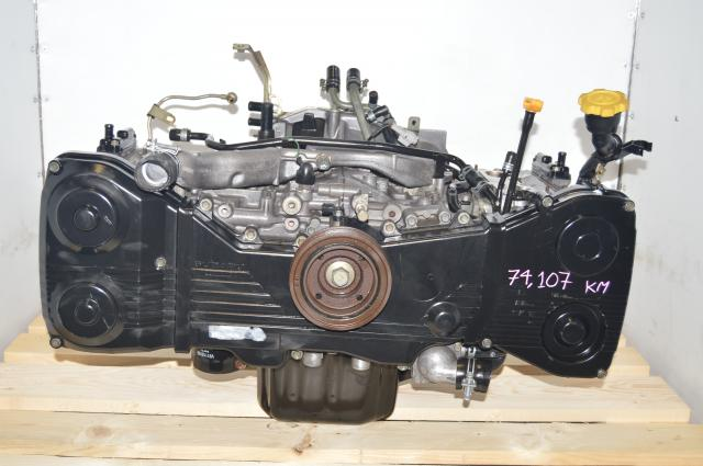 JDM Subaru WRX 2002-2005 Long Block EJ205 DOHC Engine Swap