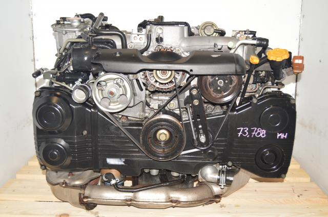 JDM AVCS Subaru WRX 2002-2005 EJ205 2.0L Turbocharged DOHC Engine for Sale