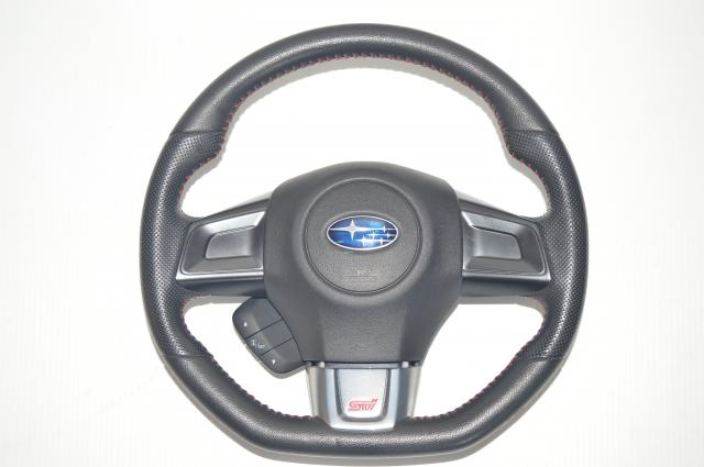 JDM Subaru WRX STi 2015-2018 VA Steering Wheel Assembly For Sale