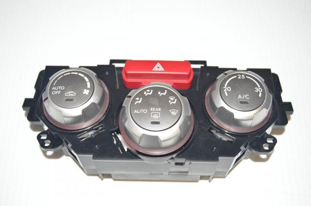 Used Subaru GR Climate Control Unit Assembly with Adjustment Knobs, WRX / Impreza / STi 2008-2014 For Sale
