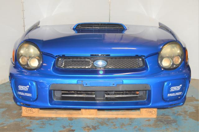 JDM Subaru Version 7 Nose Cut GD 2002-2003 Sedan WRX Front End Conversion for Sale