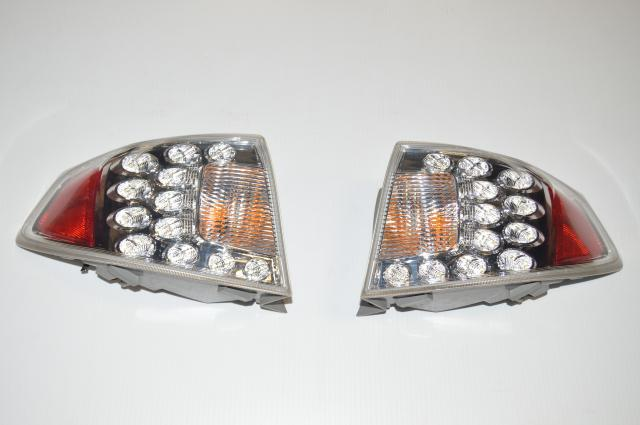 JDM Version 10 Subaru WRX & STI Hatchback 2008-2014 Rear Outer Clear Tail Lights