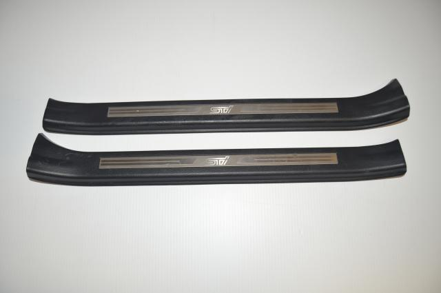 2015+ VA WRX & STI Interior Front Door Sill Trim