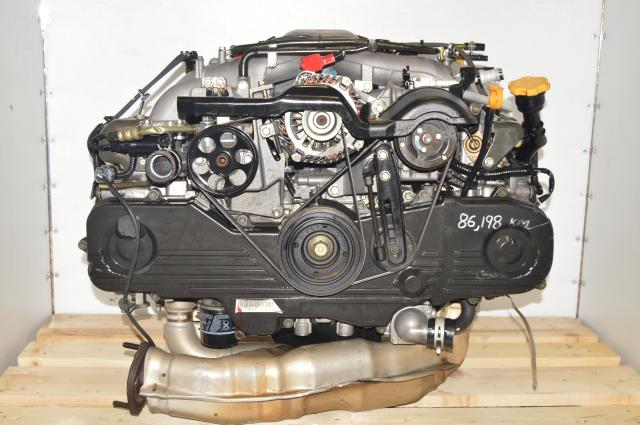 Impreza RS / TS JDM EJ203 2.0L SOHC Naturally Aspirated Replacement Long Block Motor for Sale with EGR