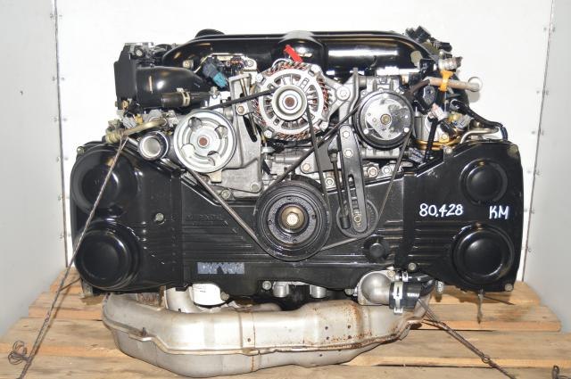 Used Subaru Twin-Scroll EJ20X JDM 2.0L Legacy 2004-2005 GT BP5 BL5 Engine for Sale
