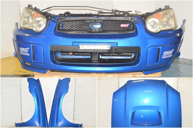 JDM Version 8 Blobeye 2004-2005 GD Front End Conversion with Fenders, Front Bumper, Rad Support, Headlights & Foglights