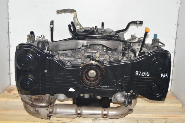 Subaru WRX Used EJ205 2.0L JDM DOHC 2002-2005 Long Block Engine for Sale
