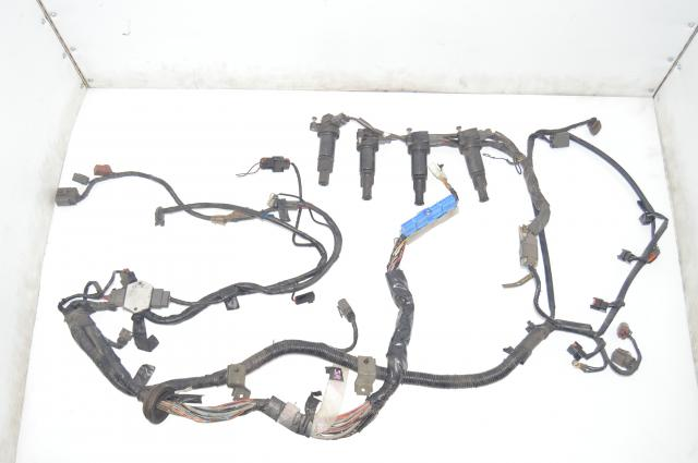 Used S13 SR20DET JDM 180SX Silvia Wire Harness with Ignition Coils Assembly for Sale