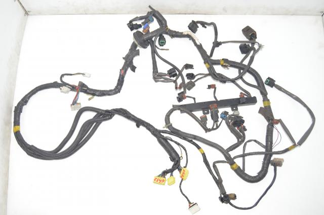 JDM Mitsubishi 6G72 Manuel 6-Speed Wire Harness Loom & ECU Assembly for Sale