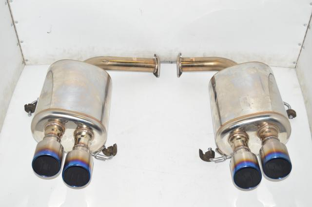 JDM Dual Port Subaru VA 2015+ STi HKS Aftermarket JQR 40164092 Double Jasma Exhaust Assembly for Sale