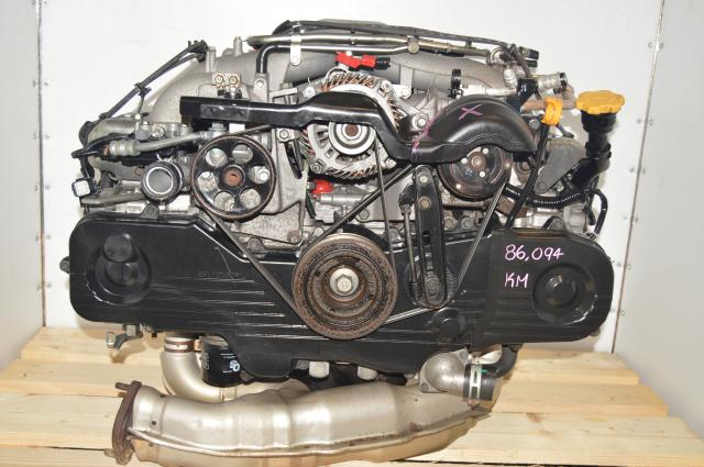 Used Subaru Impreza / Forester EJ203 2.0L Long Block SOHC Replacement for 2.5L USDM EJ253 NA Engine