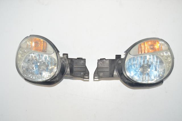 JDM Version 7 Bugeye 2002-2003 WRX Non-HID Headlights for Sale