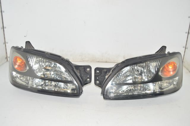 JDM Subaru Legacy BH5 BE5 Front Left & Right Headlight Kouki Style Assembly for Sale