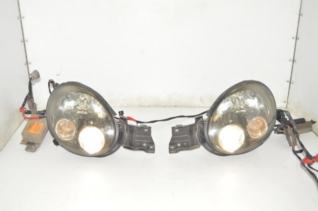 JDM Subaru WRX Version 7 Bugeye HID Headlight Assembly with Ballasts for Sale