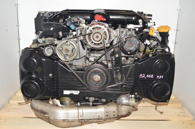 JDM Subaru Legacy GT Twin-Scroll MT EJ20Y 2004-2005 2.0L DOHC AVCS Engine Swap for Sale