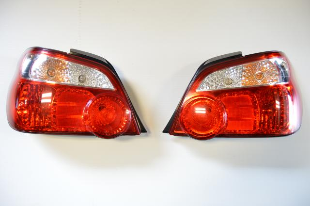 JDM Subaru WRX 2004-2005 Blobeye Version 8 Rear Tail Lights for Sale