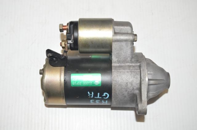 JDM Nissan R33 GTR 23300 20P05 Starter Assembly for Sale