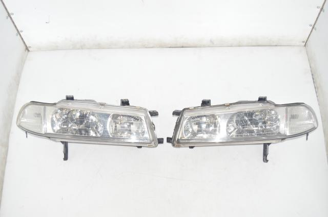 JDM Honda Prelude 92-96 BB1 BB4 Used Headlight Left & Right Assembly for Sale