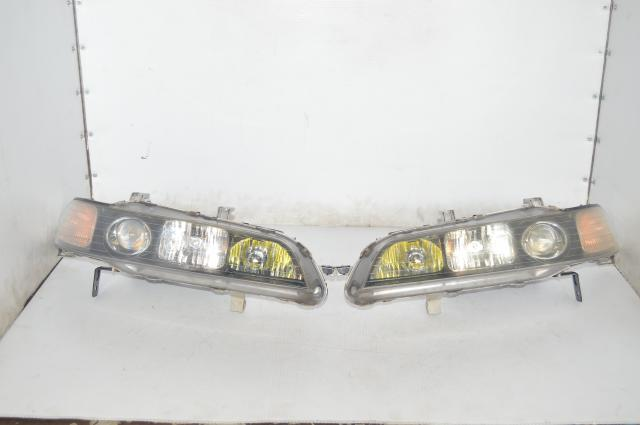 JDM Acura Integra DC2 Used Front Left & Right Complete HID Headlights with Balasts