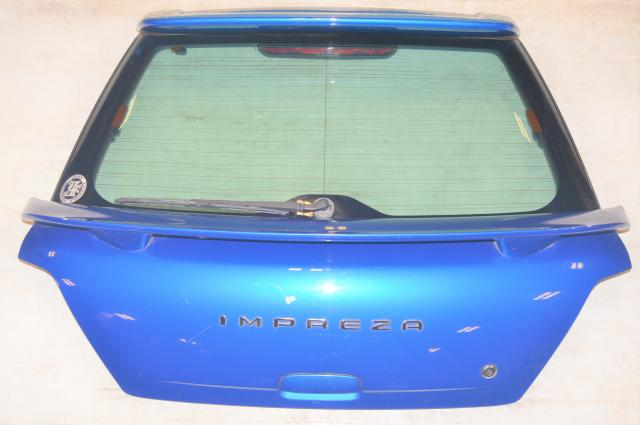Subaru Impreza GGA WRX Version 7 Sport Wagon Rear Hatch in WRB for 2002-2003 Models