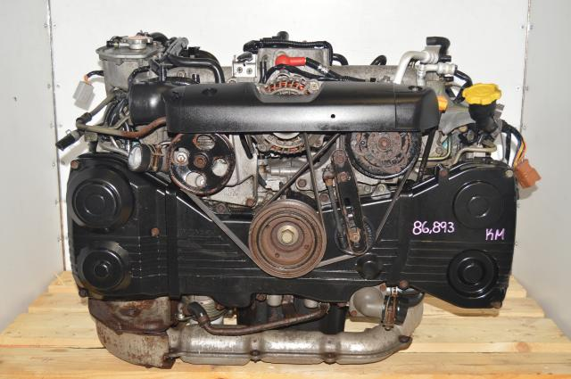 JDM Subaru WRX 2002-2005 GD TGV Delete AVCS 2.0L Engine Swap with TF035 Turbocharger for Sale