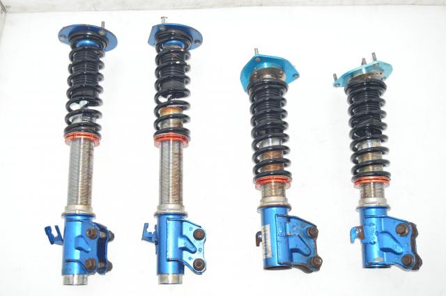 JDM WRX 2002-2007 5x100 CUSCO Aftermarket Blue Subaru Coilovers for Sale