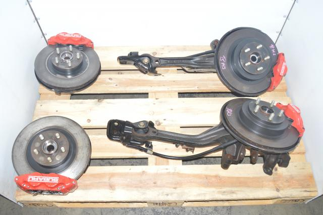 JDM Legacy BH5 Complete 4 Pot / 2 Pot Front & Rear Brake Assembly for Sale
