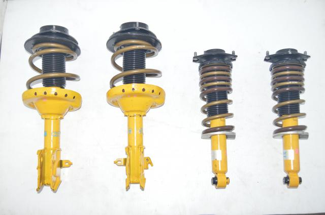 JDM VAB 2015-2018 Bilstein Yellow Suspenions with Aftermarket TEIN Springs for Sale