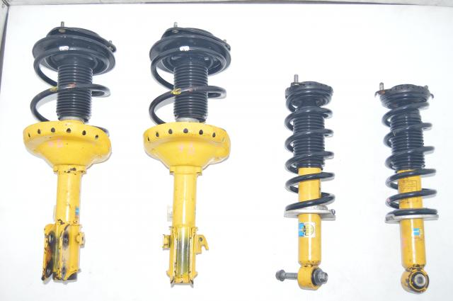 JDM Subaru Bilstein Yellow Legacy GT / Outback XT Suspenions for Sale